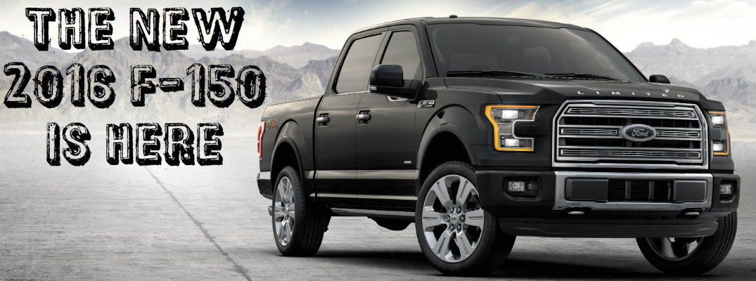2016 Ford F-150 has arrived in Tampa