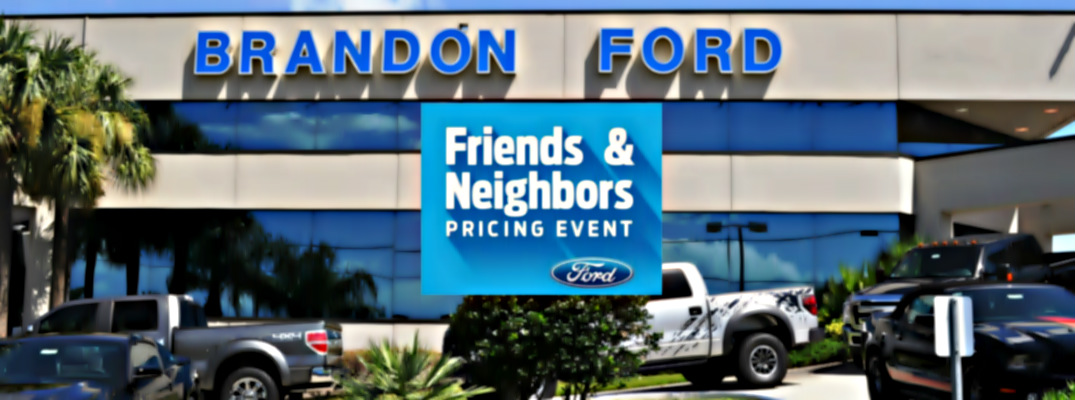 friends and family pricing event in tampa