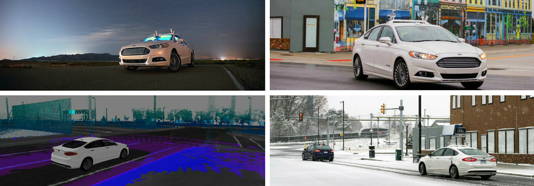 Has Ford made any autonomous development partnerships?