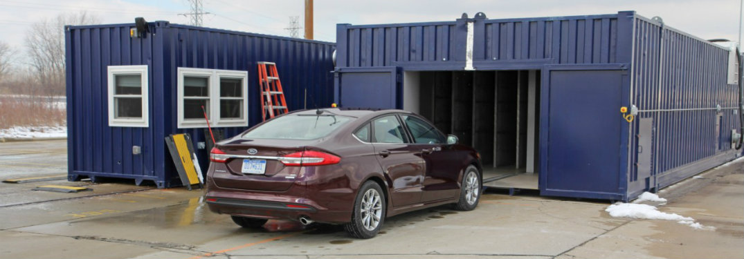 Ford develops mobile wind tunnel to help develop quiet vehicles
