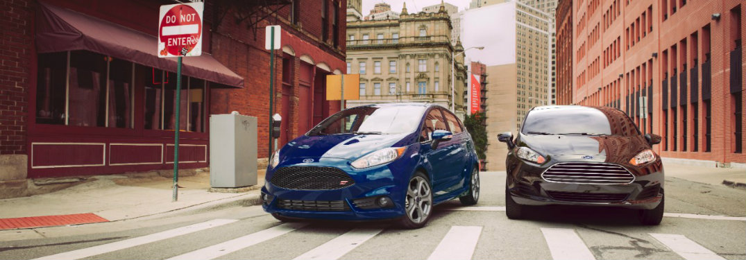 2016 Ford Fiesta sport features