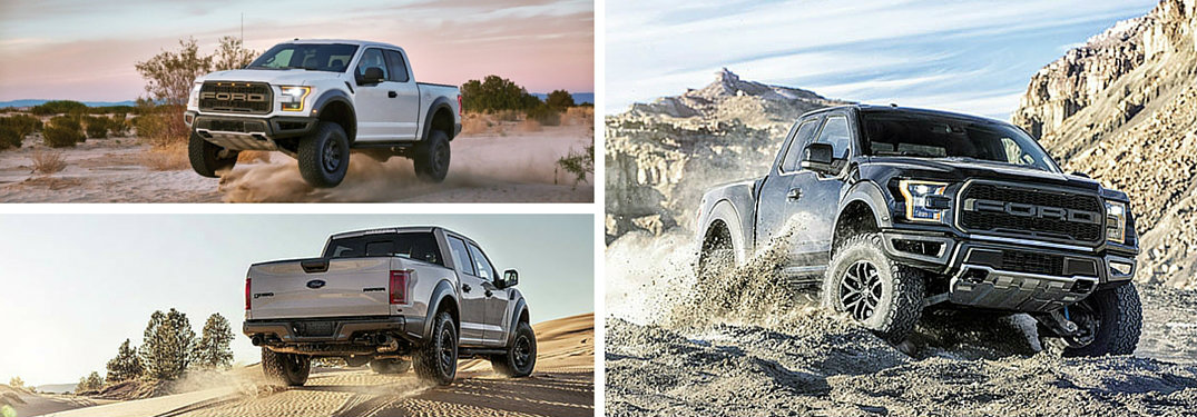 2017 Ford F-150 Raptor Performance Features
