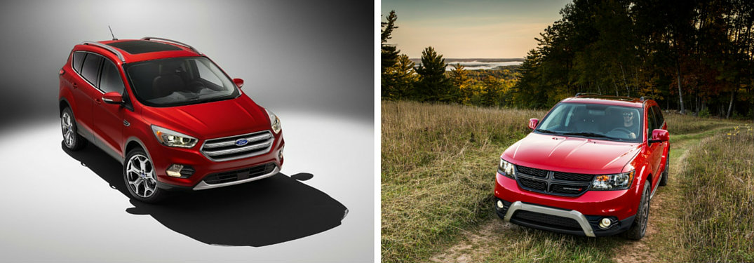 2017 Ford Escape vs 2016 Dodge Journey