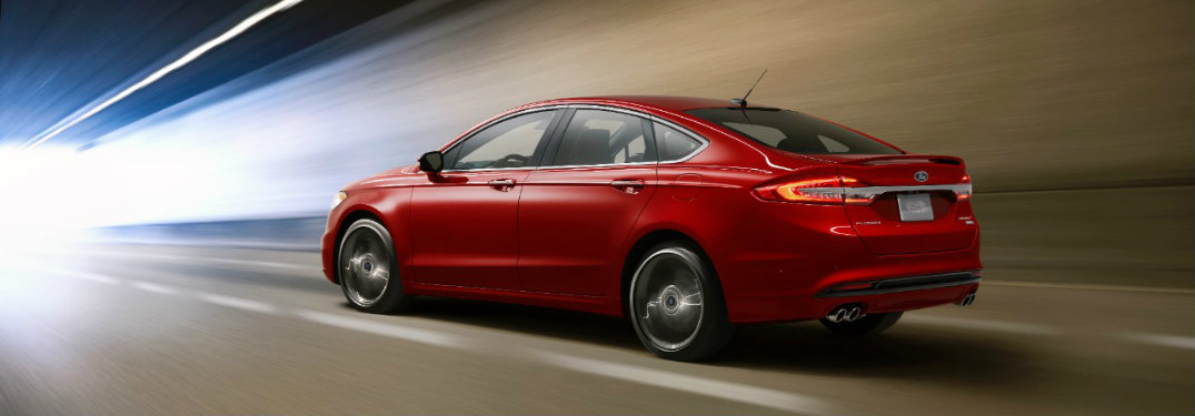 2017 Ford Fusion Sport release date