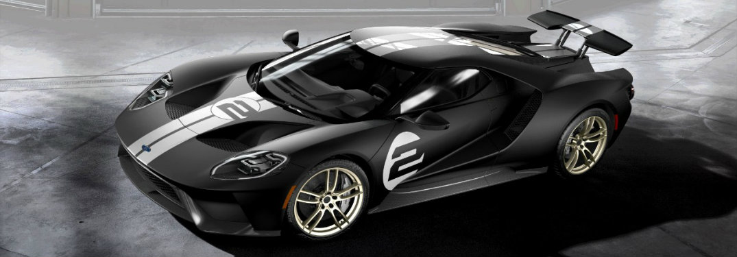 2017 Ford GT 1966 Heritage Edition availability