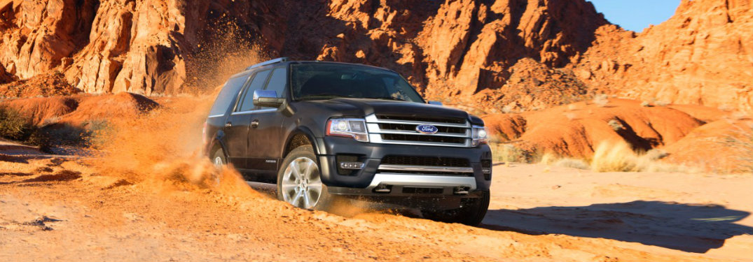 2017 Ford Expedition interior space and storage capacity