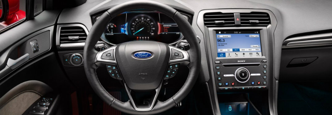 Ford Lineup Connectivity Features - 2016 ford vehicle lineup