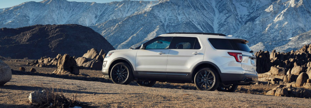 How many trim levels are offered on the 2017 Ford Explorer?
