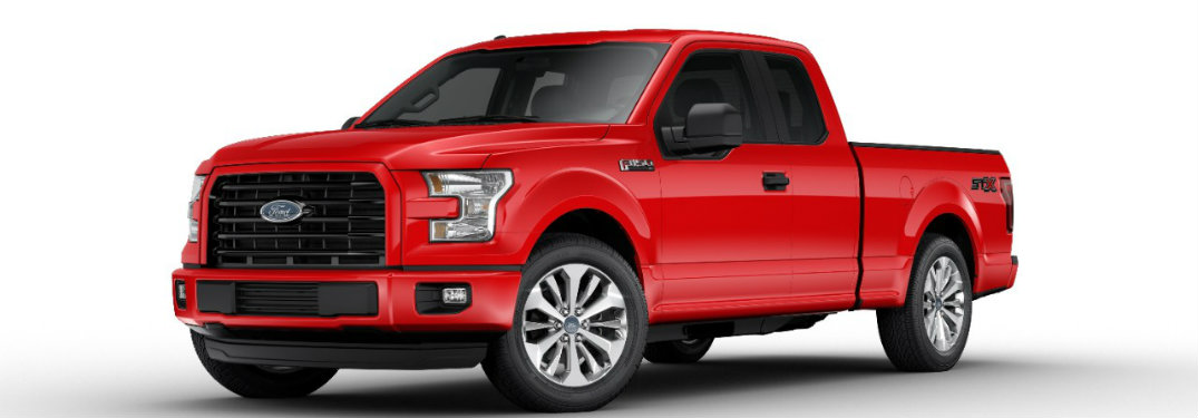 2017 Ford F-150 added packages and features