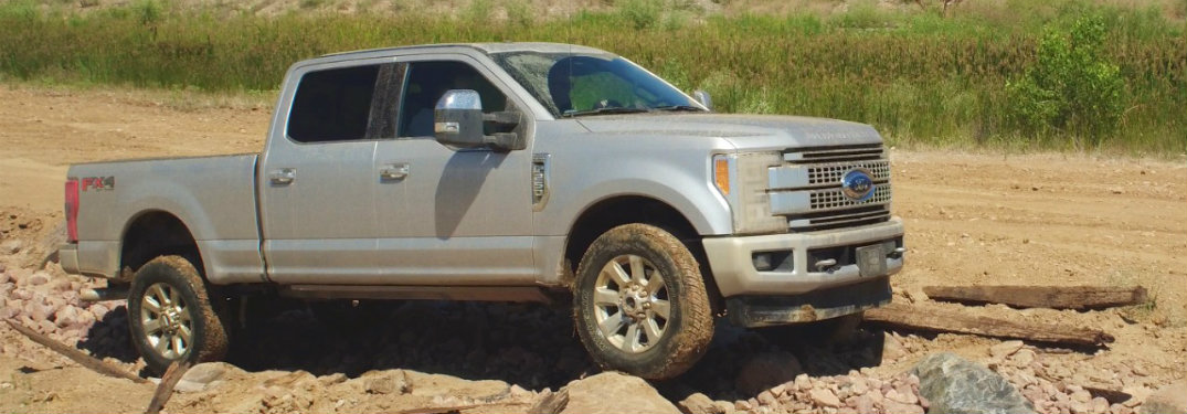 2017 Ford Super Duty Body Styles and Models