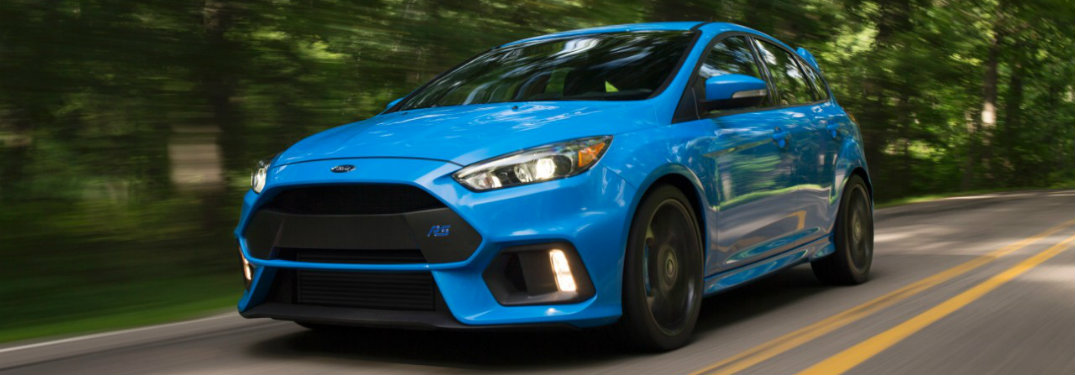 How does the 2017 Ford Focus RS all-wheel drive system work