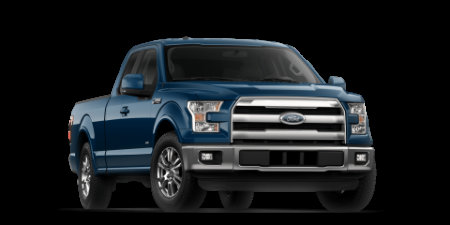 2017 Ford F-150 Blue Jeans