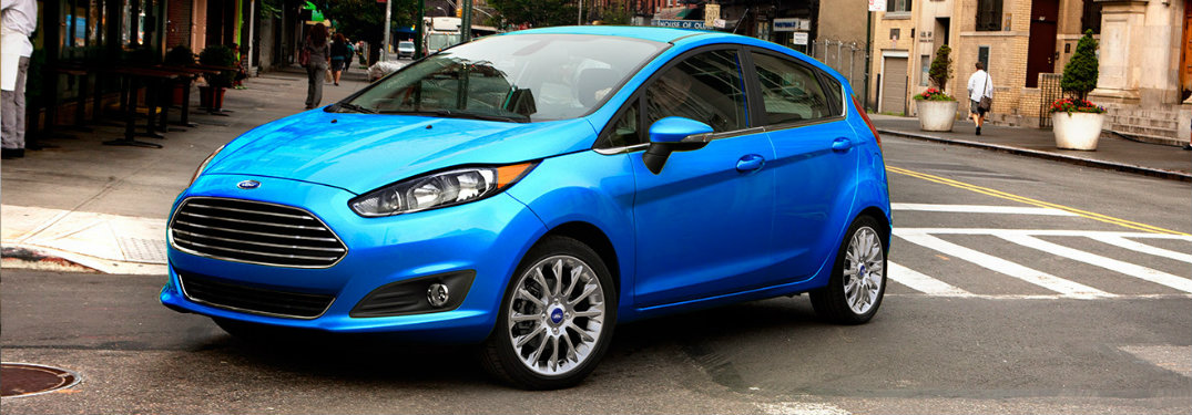 2017 Ford Fiesta Engine Options