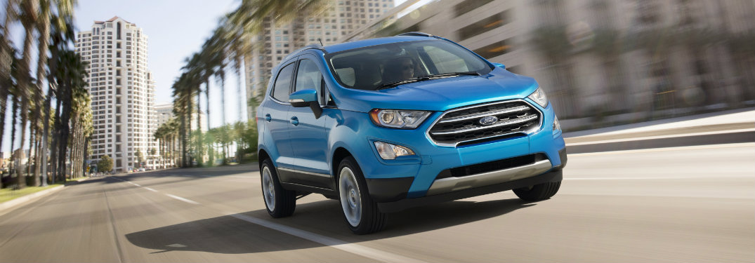 Ford EcoSport Engine Options and Performance