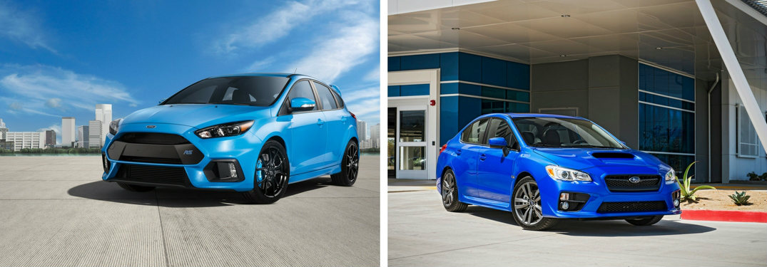2017 Ford Focus RS vs 2017 Subaru WRX