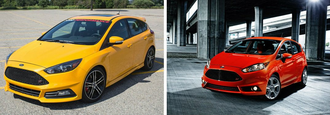 2017 Ford Focus ST vs 2017 Ford Fiesta ST