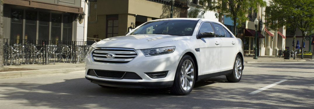 2017 Ford Taurus Engine Options and Performance