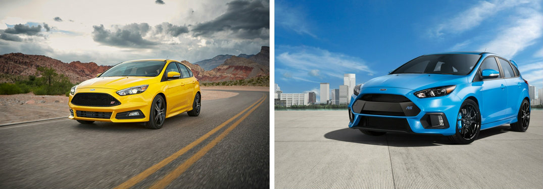 how is the 2017 ford focus rs different from the 2017 ford focus st. Black Bedroom Furniture Sets. Home Design Ideas