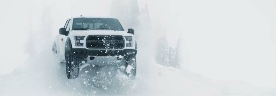 How well does the 2017 Ford Raptor do on snow?