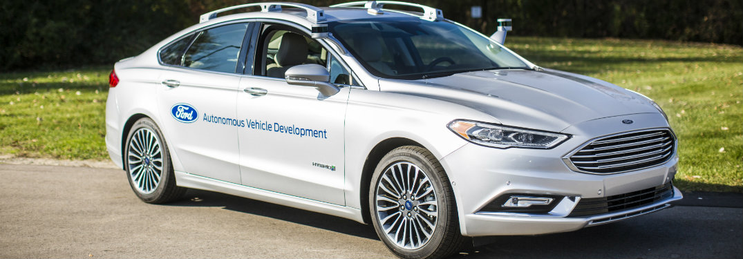 Video of the new autonomous Ford Fusion