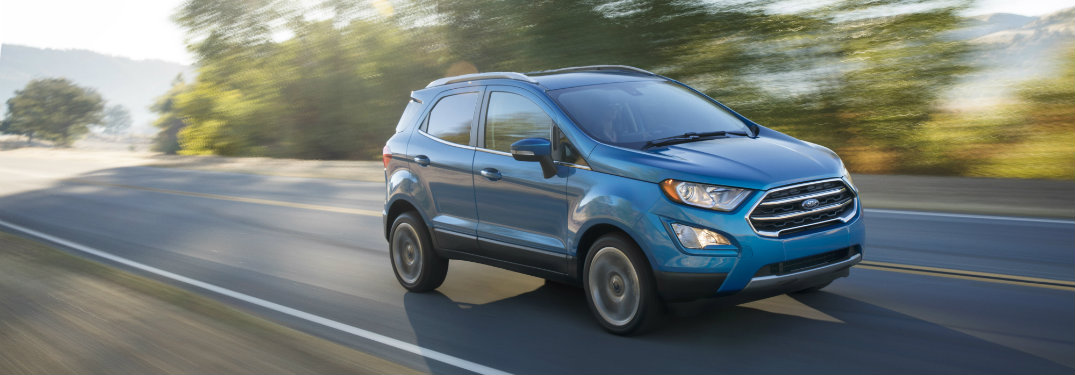 When will the Ford EcoSport be available
