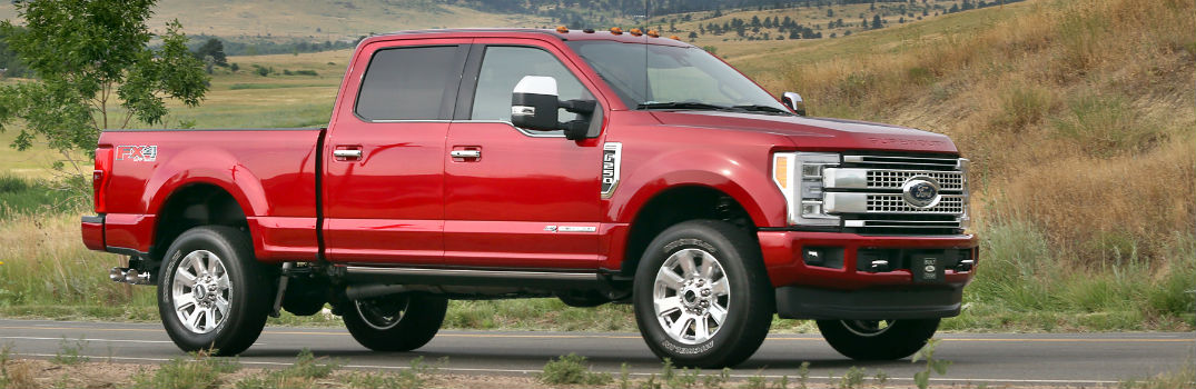 2017 Ford Super Duty New High-Tech Features