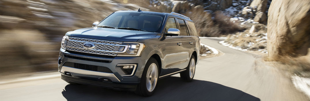 2018 Ford Expedition New Powertrain and Safety Features