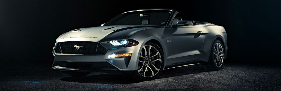 Ford Unveils New Mustang Convertible
