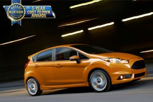 2017 Ford Fiesta ST Kelley Blue Book Five Year Cost to Own Award_o