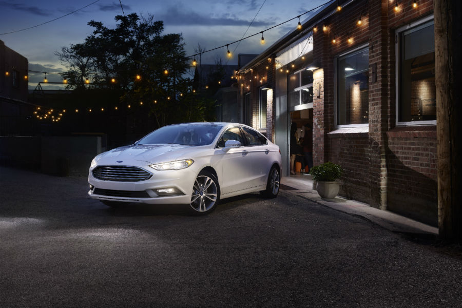 2017 Ford Fusion front side exterior_o