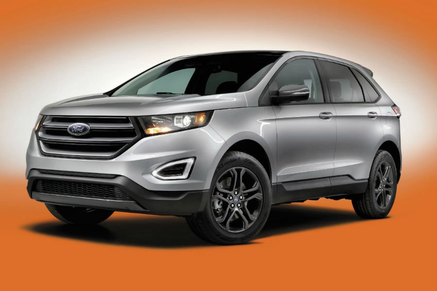 2018 Ford Edge SEL Sport Appearance Package front side exterior_o