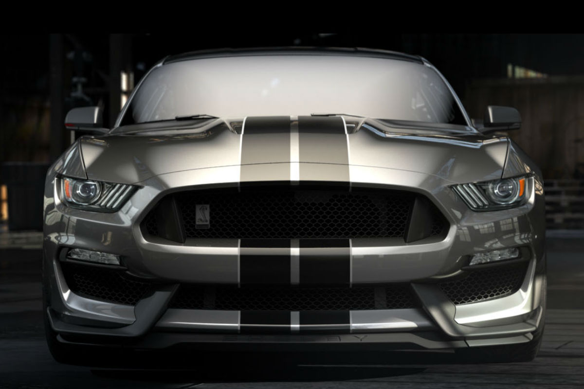 2018 ford shelby gt350 mustang front exterior o