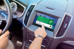 2016 Ford front interior SYNC 3 infotainment system_o