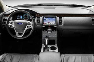 2017 Ford Flex front interior driver dash and display audio_o