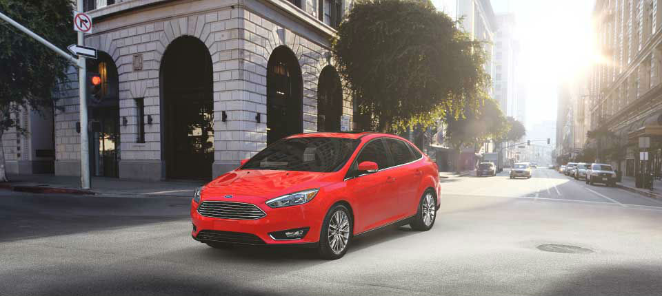 2017 Ford Focus Race Red front side exterior_o