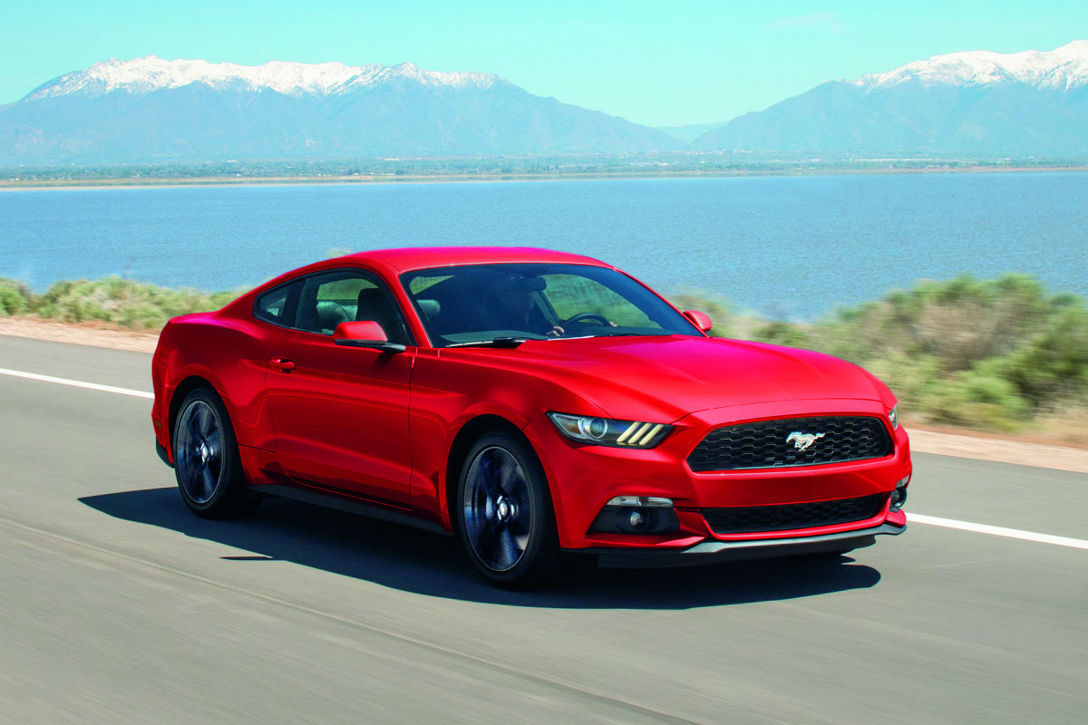 2017 Ford Mustang front side exterior_o