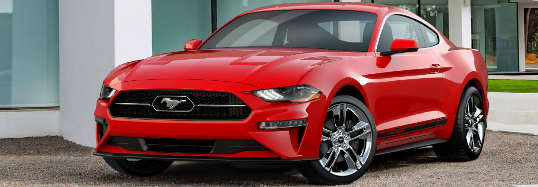 2018 Ford Mustang Pony Package Style Features_o