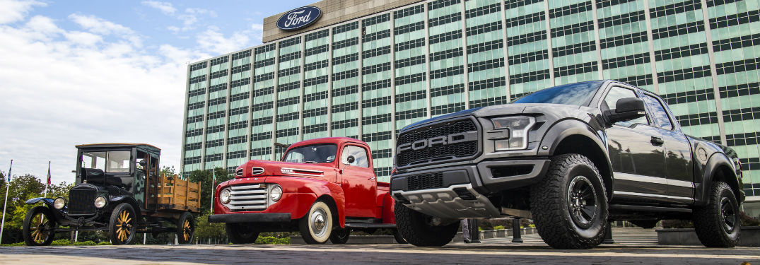 From the Model TT to the F-150: Celebrating 100 Year of Ford Trucks