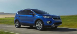 2017 Ford Escape exterior Blue Lightning_o