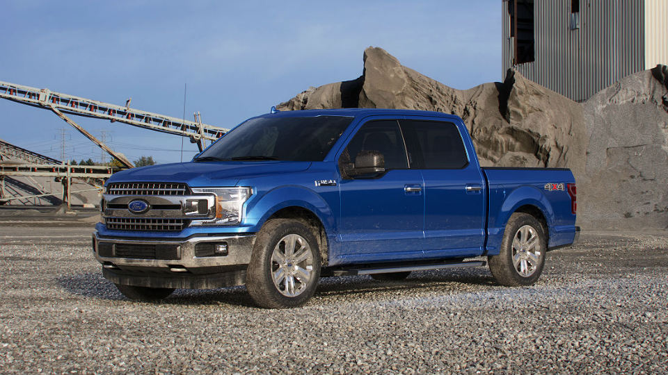 2018 Ford F 150 Lightning Blue O Brandon Ford