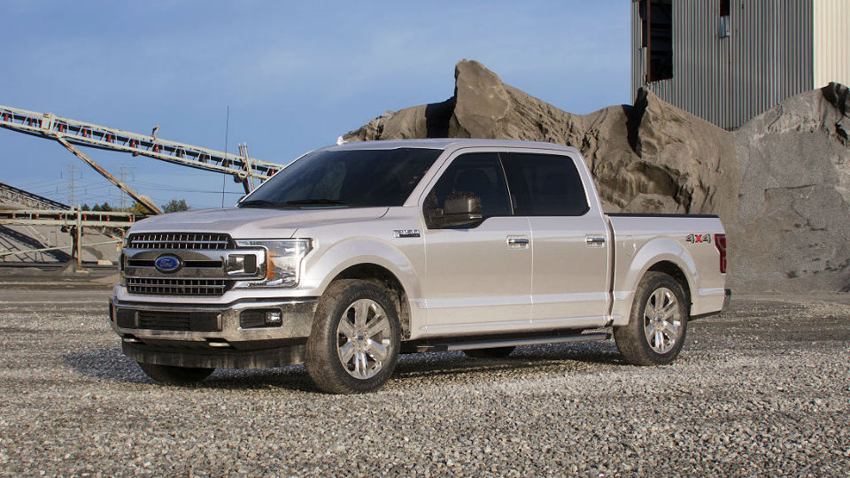 2018 ford f 150 white gold o brandon ford for Ford f 150 exterior accessories