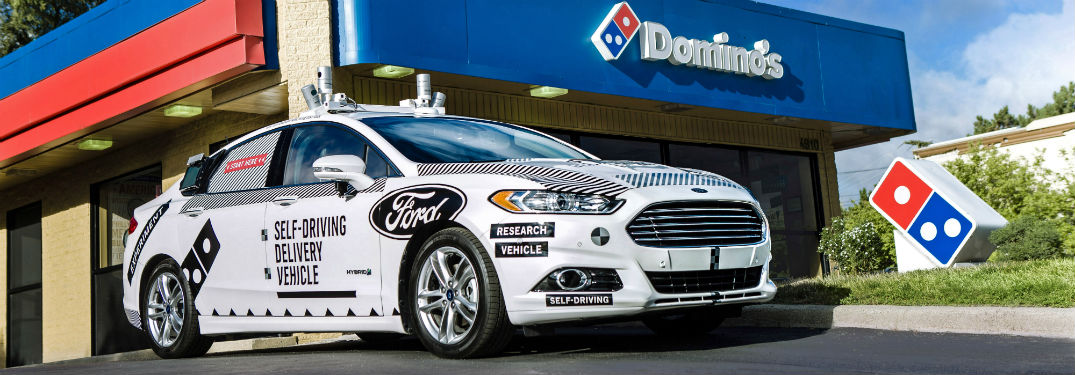 Is Ford at the Forefront of Self-Driving Pizza Delivery?