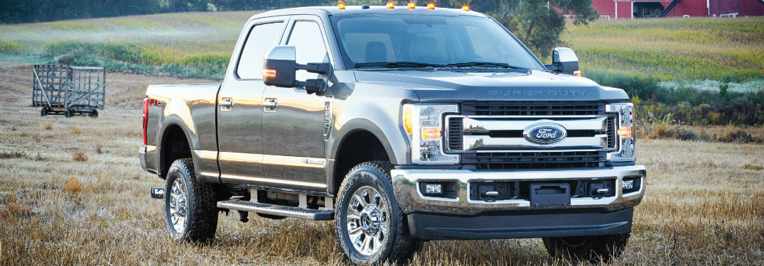 2017 Ford F-Series Super Duty front side exterior