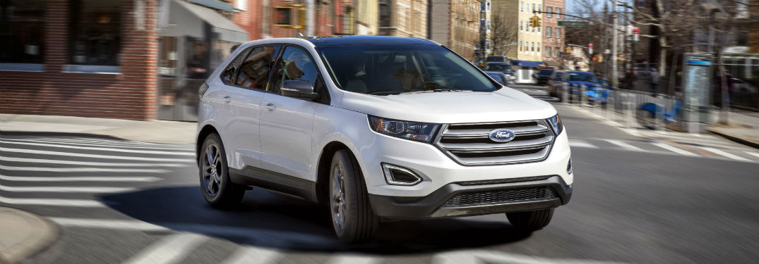What Powertrain Choices are Available for the New Ford Edge?