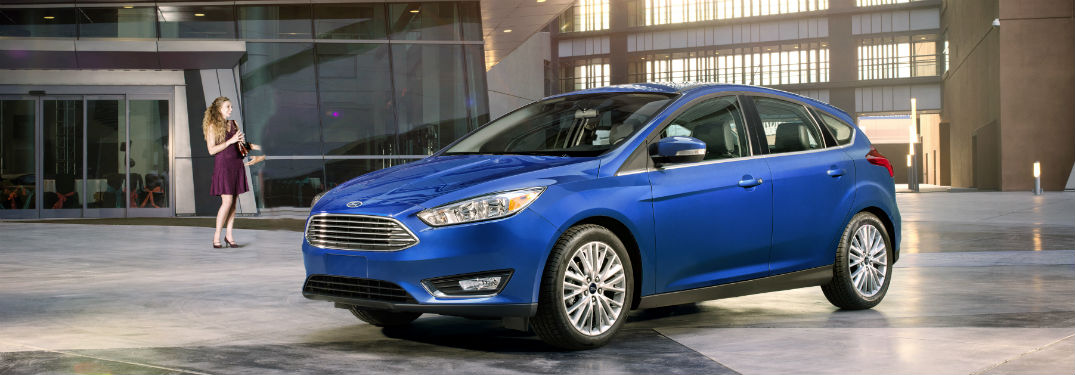 2018 Ford Focus side exterior