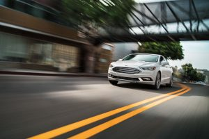 2018 Ford Fusion front exterior_o