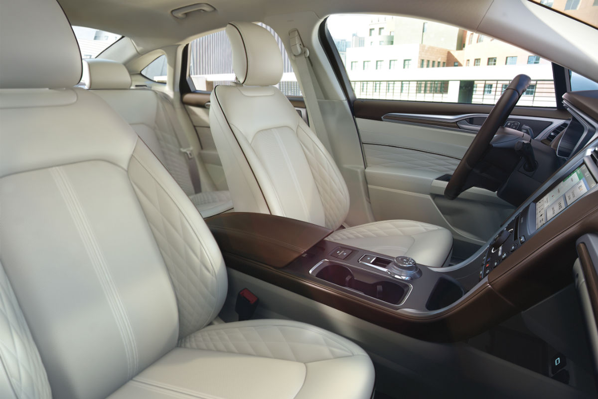 2018 Ford Fusion Front Interior Passenger Spaceo Brandon Ford