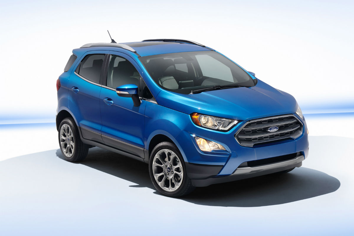 2018 ford ecosport front side exterior