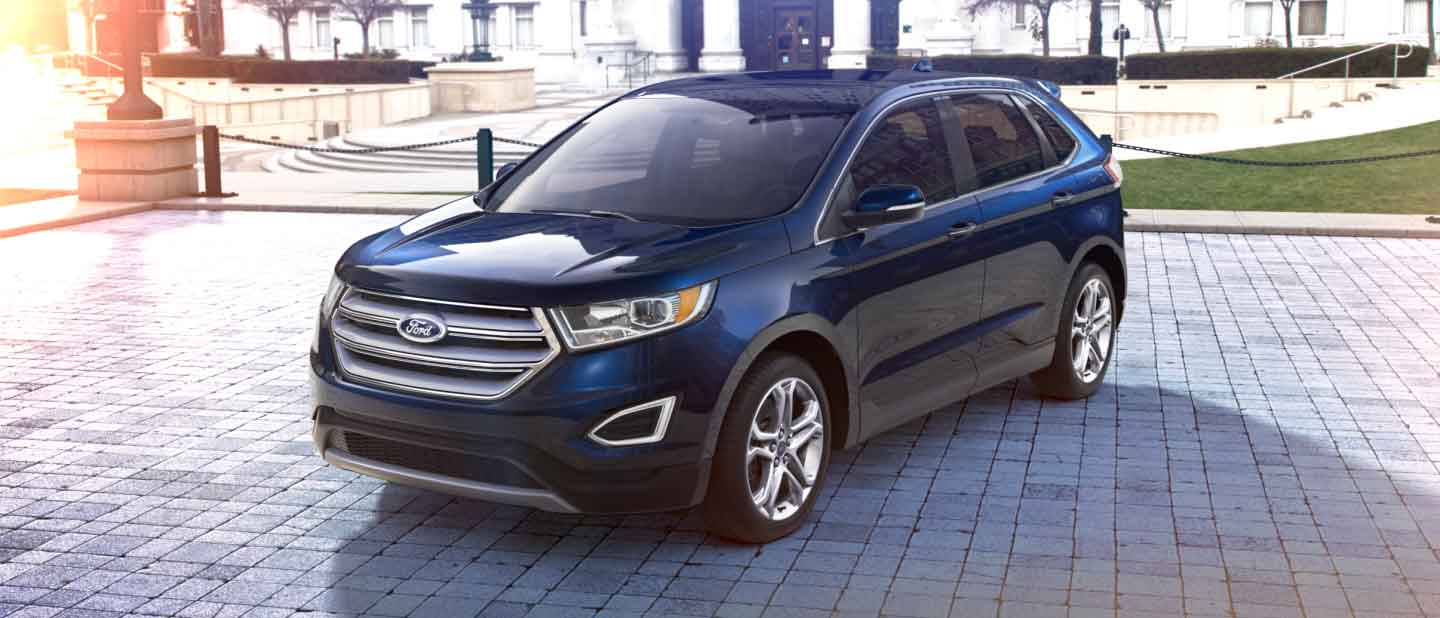 Ford Edge Deep Impact Blue Metallic Exterior Color