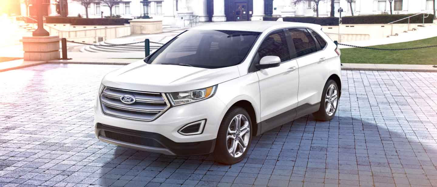 Ford Edge Oxford White Exterior Color